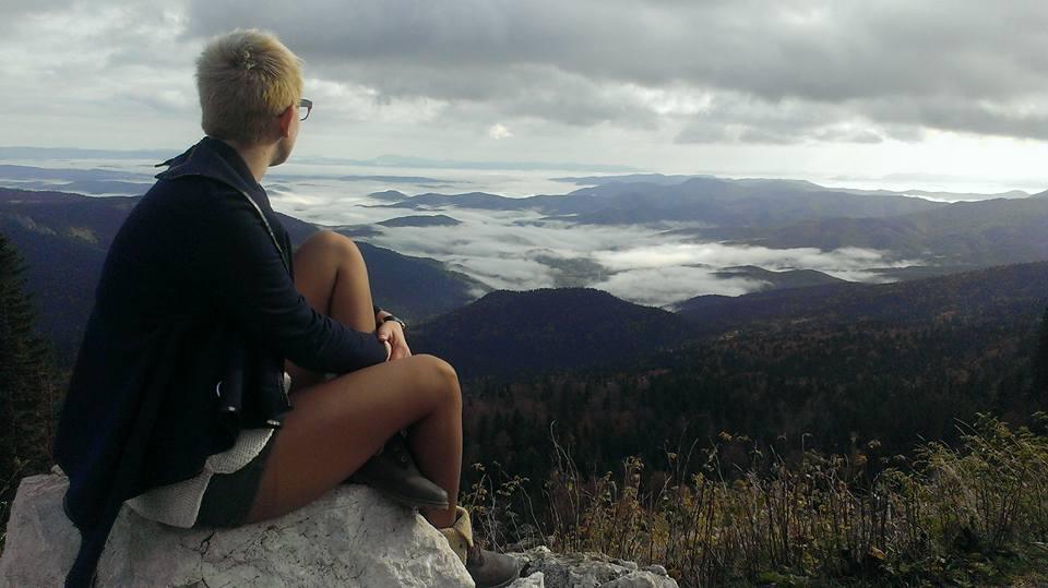 Tamara uživa u prirodi Jahorine, BiH