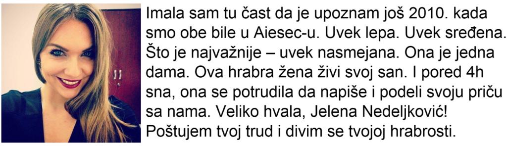 Konzumiraj život_Jelena Nedeljković