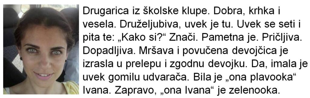 Konzumiraj život_Ivana Madžarević