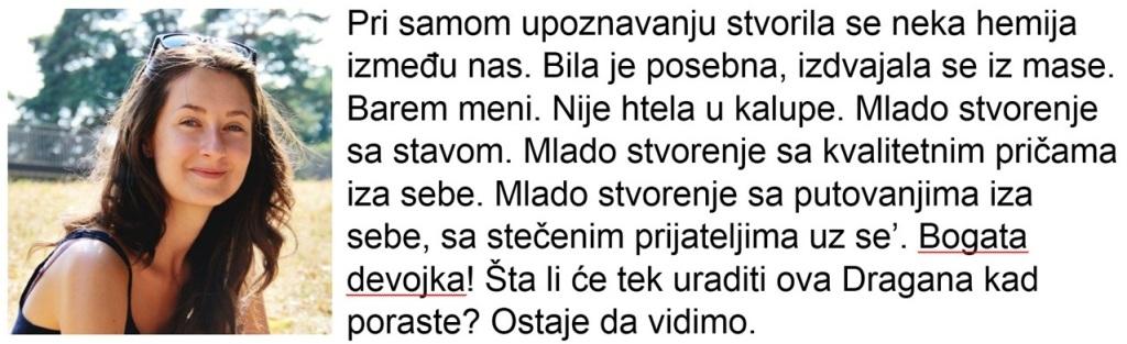 Dragana Tošić_Konzumiraj život